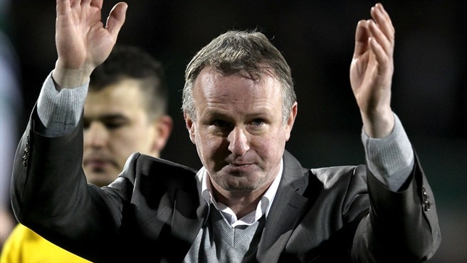 O'Neill assume comando da Irlanda do Norte