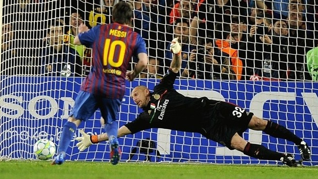 Messi estabelece recorde de golos na Champions League