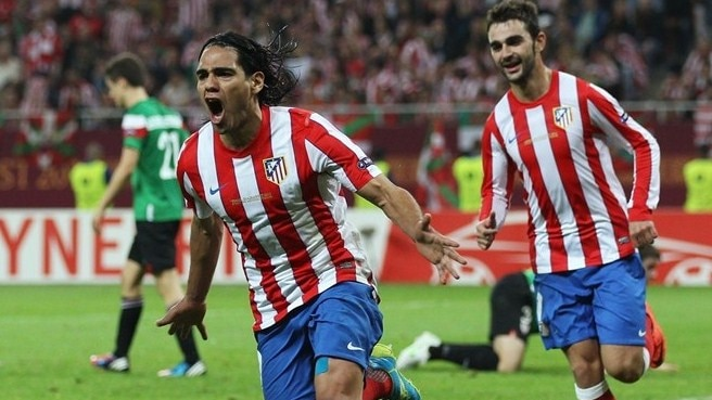 2011/12: Falcao bisa no triunfo do Atlético