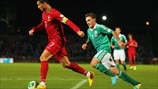 Cristiano Ronaldo (Portugal) & Lee Hodson (Northern Ireland)