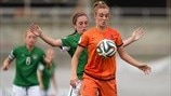 Jill Roord (Netherlands) & Amy O'Connor (Republic of Ireland)