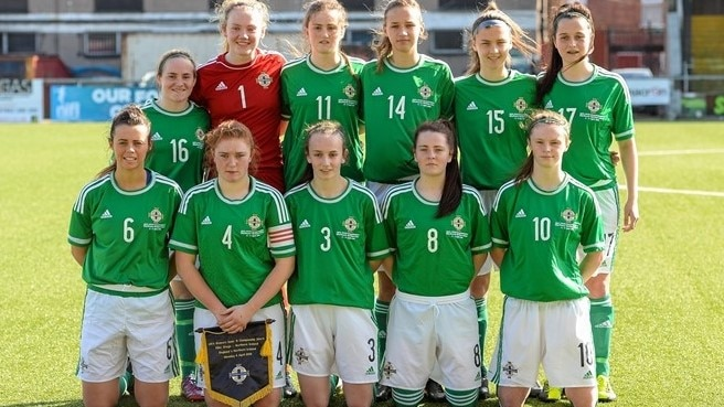 Europeu Feminino de Sub-19 de 2017: Irlanda do Norte