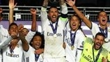 Real Madrid ergue a SuperTaça Europeia