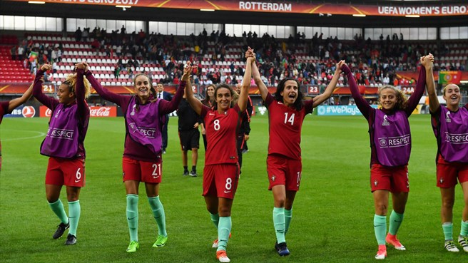 Portugal - Inglaterra: factos do Women's EURO