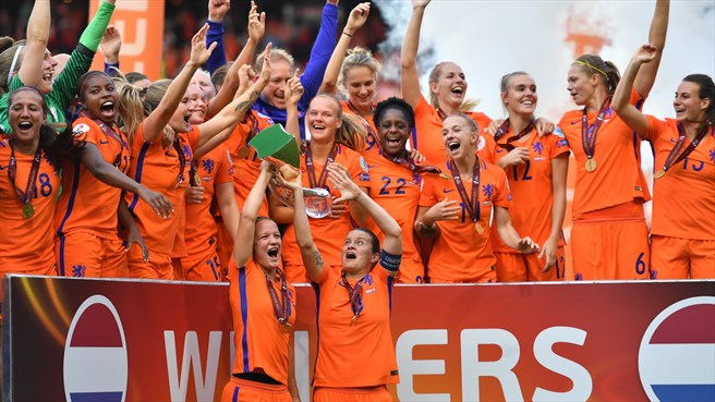 2017: Holanda campeã no final do reinado a Alemanha