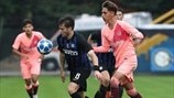 Resumos da Youth League: Inter 0-2 Barcelona