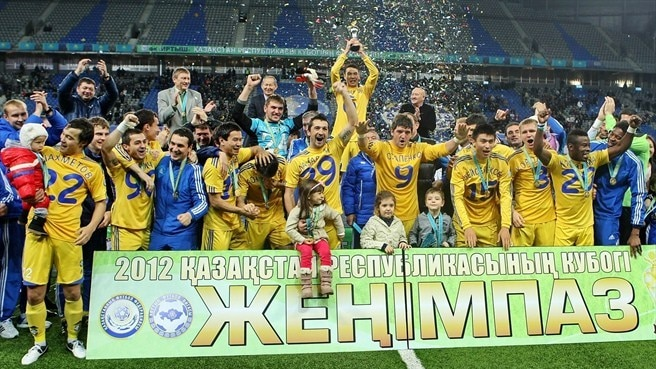 Astana ergue Taça do Cazaquistão