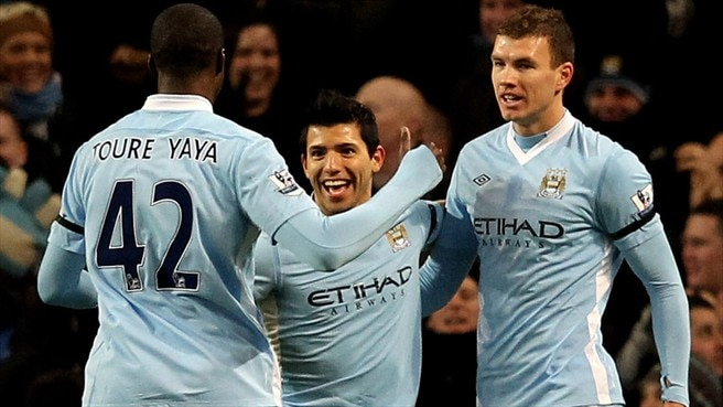 City demasiado forte para o Liverpool