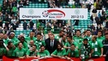 Celtic FC celebrate