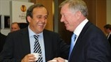 Michel Platini: Obrigado, Sir Alex