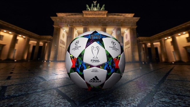 Bola da final da UEFA Champions League revelada