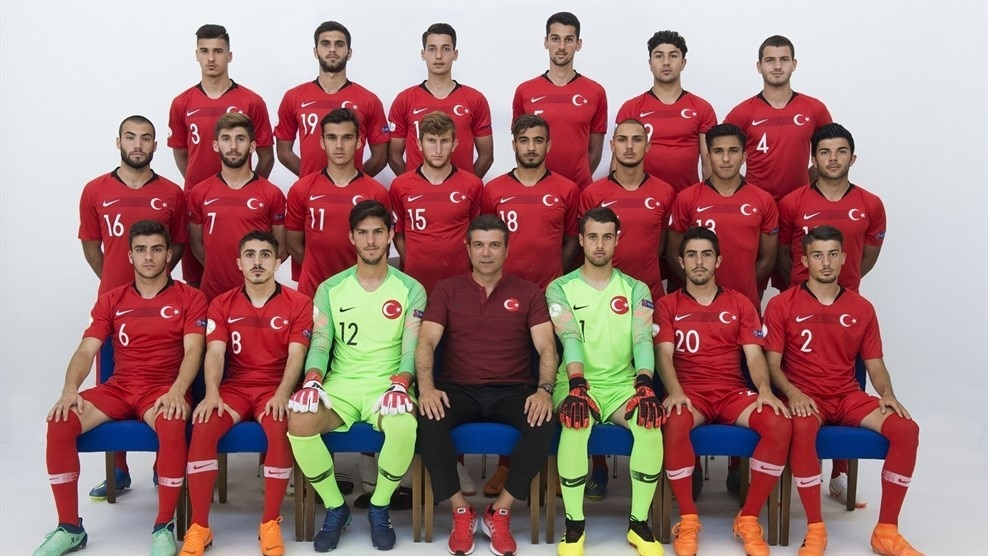 Turkey squad U19