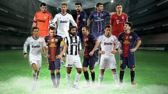 Equipa do Ano de 2012