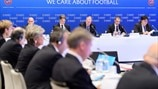 UEFA Executive Committee meeting in Amsterdam