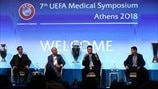 Distinguished guests anad speakers at Athens medical symposium
