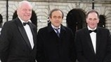 Michel Platini in belfast - 1